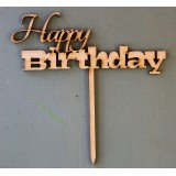 HAPPY BIRTHDAY CAKE TOPPER - CT155