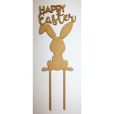HAPPY EASTER CAKE TOPPER - CT267