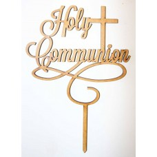 HOLY COMMUNION CAKE TOPPER - CT134