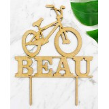 CUSTOM BMX NAME CAKE TOPPER - CT233