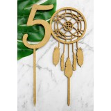 50 DREAMCATCHER CAKE TOPPER - CT236