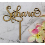 CUSTOM NAME CAKE TOPPER - CT271