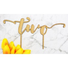 TWO CAKE TOPPER - CT247