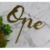 ONE CAKE TOPPER - CT249