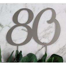 NUMBER 80 CAKE TOPPER - CT251