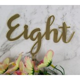 EIGHT CAKE TOPPER - CT254