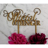 OFFICIAL TEENAGER CAKE TOPPER - CT262