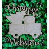 PERSONALISED CHRISTMAS AT THE WITH UTE - M423