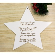 CHRISTMAS IN HEAVEN STAR - M397