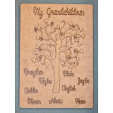 OUR FAMILY LOVE TREE PLAQUE - FAM002