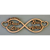 INFINITY FAMILY WALL PLAQUE - FAM003