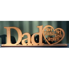DAD NAME STAND - M725