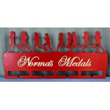 FEMALE RUNNER MEDAL HANGER - MH009