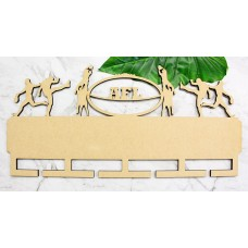 AFL FOOTBALL MEDAL HANGER - MH005