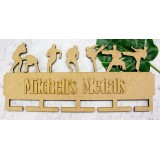 FOOTBALL & KARATE MEDAL HANGER - MH008