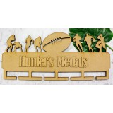FOOTBALL MEDAL HANGER - MH007