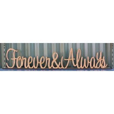 FOREVER & ALWAYS NAME STAND - M631