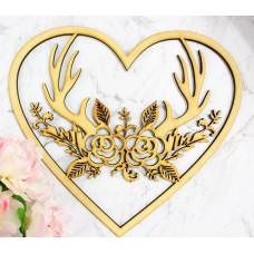 PERSONALISED NAME HEART - M622