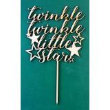 TWINKLE TWINKLE LITTLE STAR CAKE TOPPER - CT129