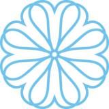 6x6-Teardrop-Flower-ALTA175
