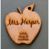 LOVE TEACH INSPIRE KEY RING - M715