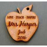 LOVE TEACH INSPIRE CUSTOM KEY RING - M714