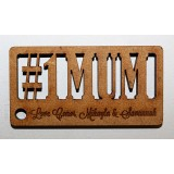 NO 1 MUM KEY RING - M707