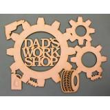 DAD'S WORKSHOP (GEARS)- M459