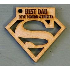 SUPERMAN BEST DAD - M703