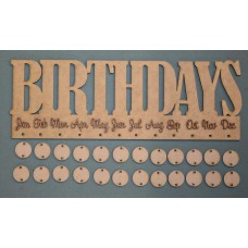 BIRTHDAY (BLOCK) BOARD - M402