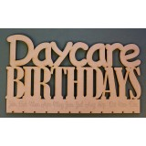 DAYCARE BIRTHDAY BOARD - M405
