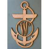 ANCHOR INITIAL MONOGRAM - M368