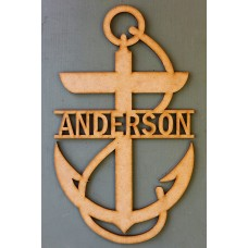ANCHOR NAME PLAQUE - M343