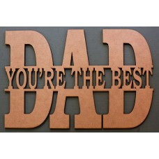 YOU'RE THE BEST DAD MONOGRAM - M478