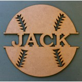 BASEBALL NAME PLAQUE - M353