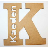 LARGE LETTER NAME PLAQUE-M303