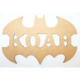 BATMAN NAME PLAQUE-M301