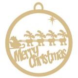 Santa's-Reindeer-Ornament-WV082