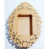 Ornate-Oval-Shadow-Box-Frame.-Fits-a-6x4-inch-Phot